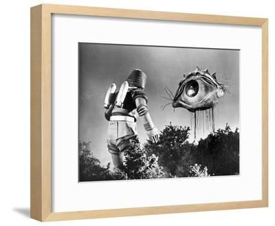 Johnny Sokko and His Flying Robot--Framed Photo