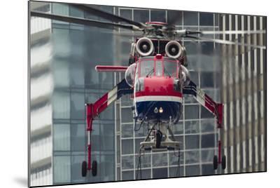 An Erickson Aircrane S-64 Aircrane Heavy-Lift Helicopter--Mounted Photographic Print