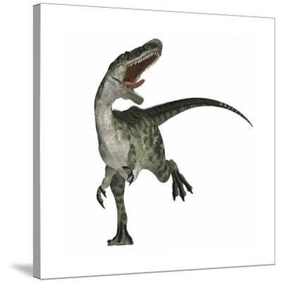 Monolophosaurus Dinosaur--Stretched Canvas Print