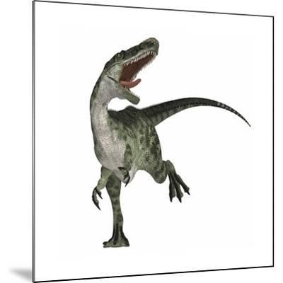 Monolophosaurus Dinosaur--Mounted Art Print
