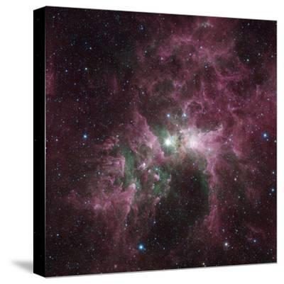 Infrared View of the Carina Nebula--Stretched Canvas Print