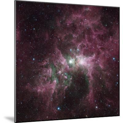 Infrared View of the Carina Nebula--Mounted Photographic Print