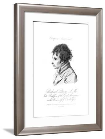 Richard Porson--Framed Giclee Print