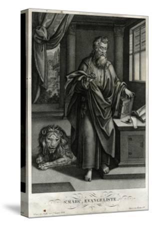 St Mark, Evangelist, Bulla--Stretched Canvas Print