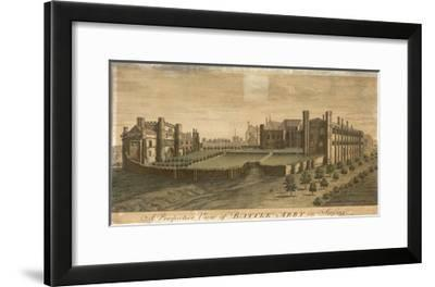 Battle Abbey in Sussex--Framed Giclee Print