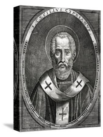 Saint Cyprian--Stretched Canvas Print