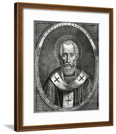 Saint Cyprian--Framed Giclee Print
