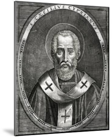 Saint Cyprian--Mounted Giclee Print