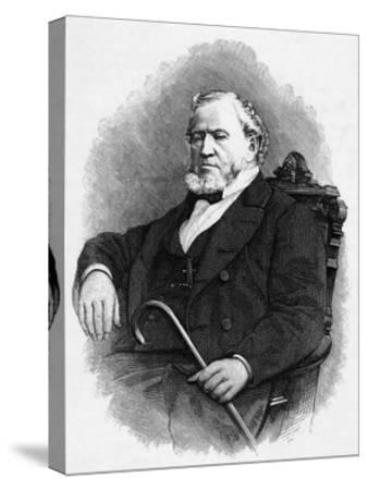 Brigham Young--Stretched Canvas Print