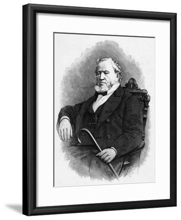 Brigham Young--Framed Giclee Print