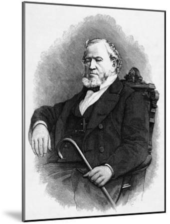 Brigham Young--Mounted Giclee Print