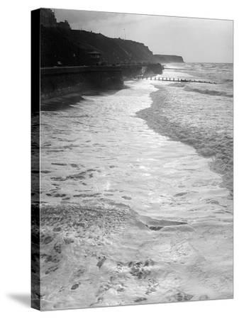 Cromer by Moonlight--Stretched Canvas Print