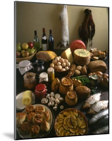British Country Fare--Mounted Giclee Print