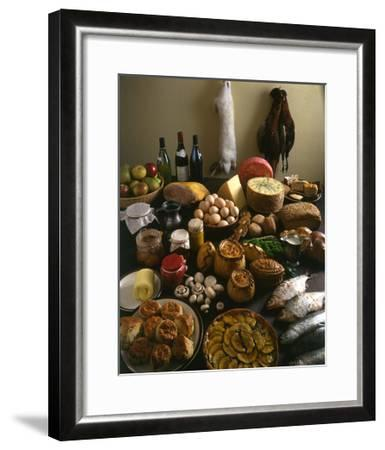 British Country Fare--Framed Giclee Print