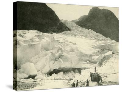 Glacier, Norway--Stretched Canvas Print