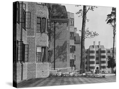 'Modern' Flats 1930S--Stretched Canvas Print