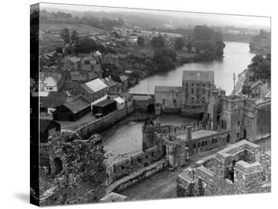 Wales, Pembroke--Stretched Canvas Print