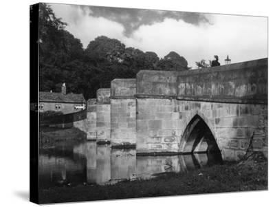 Old Bakewell Bridge--Stretched Canvas Print