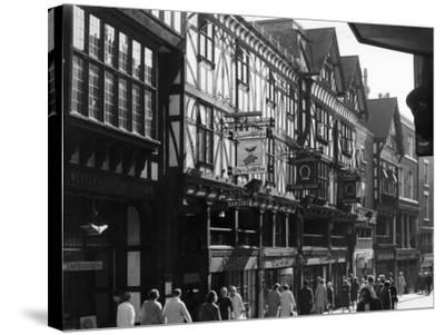 England, Chester--Stretched Canvas Print