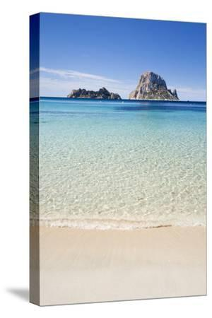 Es Vedranell and Es Vedra Islands-Jorg Greuel-Stretched Canvas Print