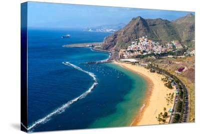 Playa De Las Teresitas, Tenerife, Canary Islands-Chris Hepburn-Stretched Canvas Print