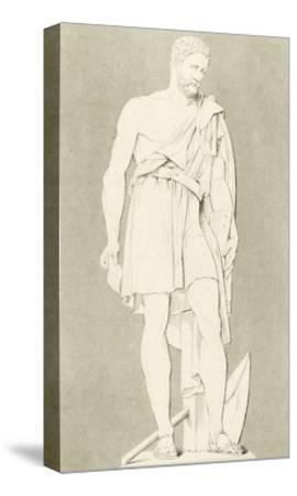 Cincinnatus-George Cooke-Stretched Canvas Print