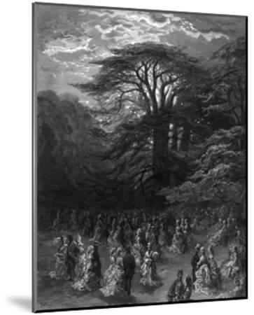 Chiswick House-Gustave Dor?-Mounted Giclee Print