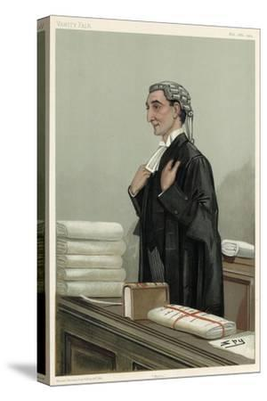 Lawyer, Rufus Isaacs-Leslie Ward-Stretched Canvas Print