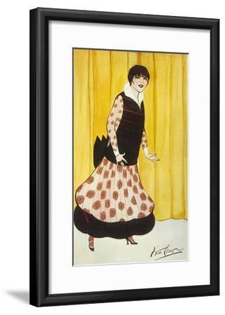 Eva Lavalliere, Carew-Kate Carew-Framed Giclee Print