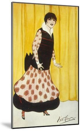 Eva Lavalliere, Carew-Kate Carew-Mounted Giclee Print