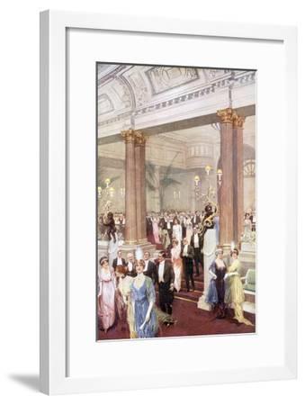 Social, Savoy Banquet 20C-Max Cowper-Framed Giclee Print