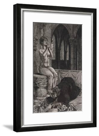 Possession, Cadiere 1730S-Martin Van Maele-Framed Giclee Print