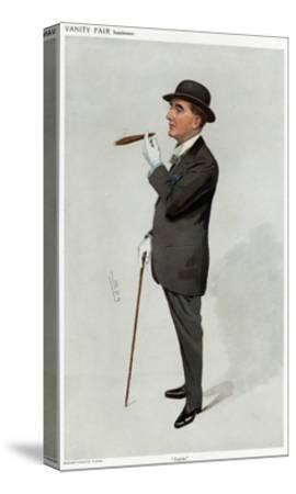 Alfred W. Cox, Vanity Fair-Leslie Ward-Stretched Canvas Print