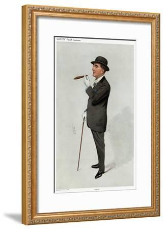 Alfred W. Cox, Vanity Fair-Leslie Ward-Framed Giclee Print