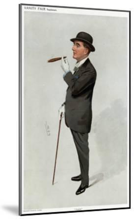 Alfred W. Cox, Vanity Fair-Leslie Ward-Mounted Giclee Print