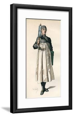 Moliere, M de Pourceau.-Maurice Sand-Framed Giclee Print