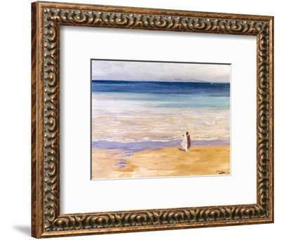 A West Wind-Sir John Lavery-Framed Giclee Print