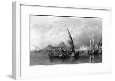 Greece Corfu-Thomas Allom-Framed Giclee Print