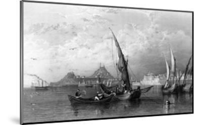 Greece Corfu-Thomas Allom-Mounted Giclee Print