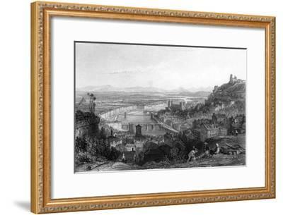 France Lyon-Thomas Allom-Framed Giclee Print