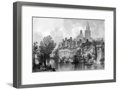 France Perigueux-Thomas Allom-Framed Giclee Print