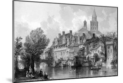 France Perigueux-Thomas Allom-Mounted Giclee Print