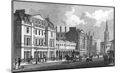 Langham Place-Thomas H Shepherd-Mounted Giclee Print
