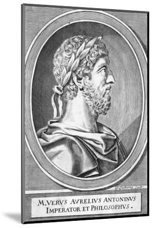 Marcus Aurelius-W Faithorne-Mounted Giclee Print