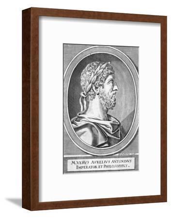 Marcus Aurelius-W Faithorne-Framed Giclee Print
