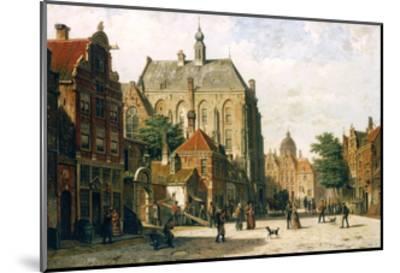 Amsterdam-Willem Koekkoek-Mounted Giclee Print