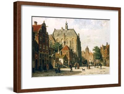 Amsterdam-Willem Koekkoek-Framed Giclee Print