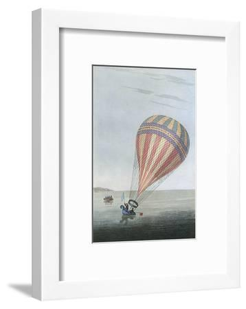 Balloon in Channel 1810--Framed Giclee Print