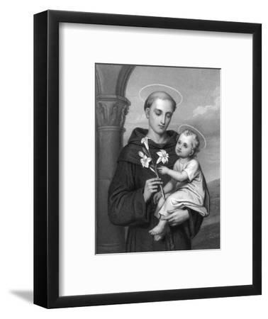 Antony of Padua--Framed Giclee Print
