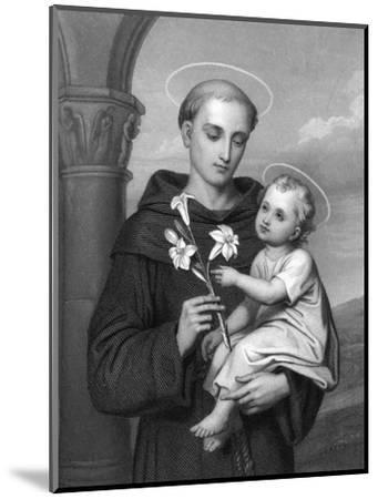 Antony of Padua--Mounted Giclee Print